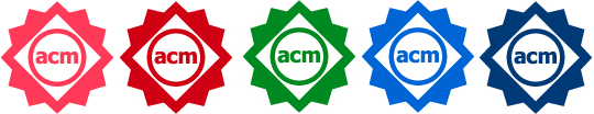 ACM badges