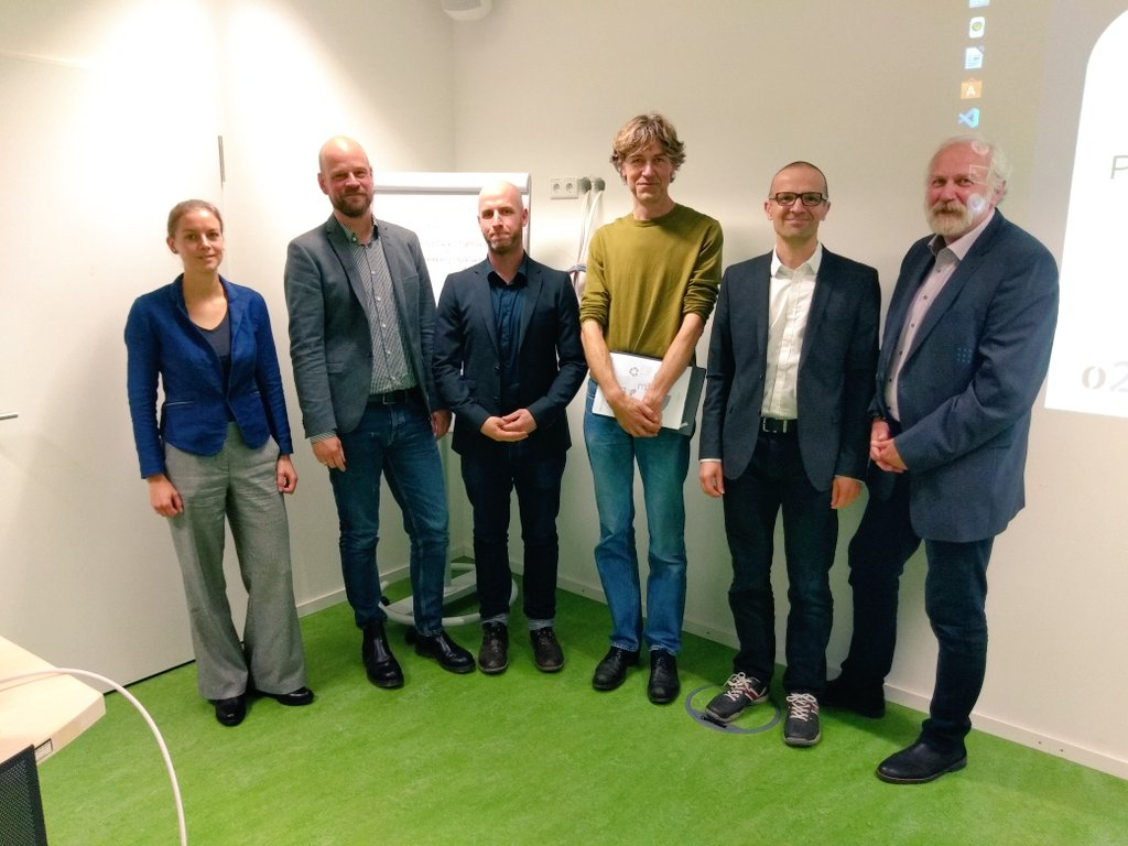 Markus Konkol successfully defended his PhD thesis; examination committee